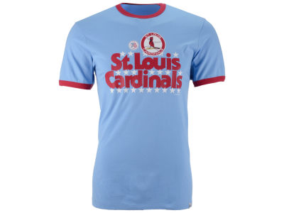 St. Louis Cardinals '47 MLB Men's Archive Ringer Bicentennial T-Shirt