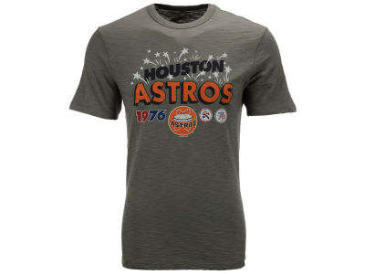 Houston Astros '47 MLB Men's Crosstown Scrum Bic T-Shirt