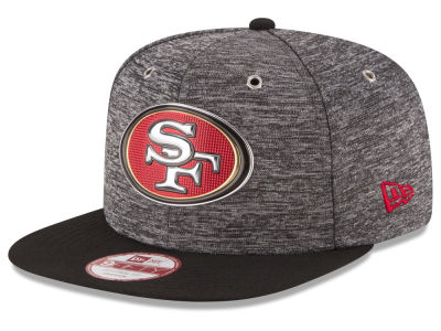San Francisco 49ers New Era 2016 NFL Draft 9FIFTY Black Original Fit Snapback Cap