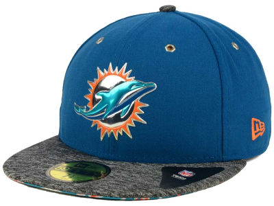 Miami Dolphins New Era 2016 NFL Draft Alternate 59FIFTY Cap