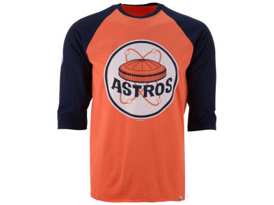 Houston Astros '47 MLB Men's Veterans Bicentennial Raglan Shirt