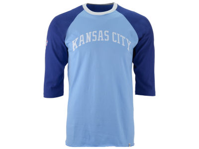 Kansas City Royals '47 MLB Men's Veterans Bicentennial Raglan Shirt