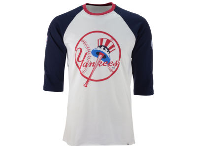 New York Yankees '47 MLB Men's Veterans Bicentennial Raglan Shirt