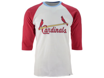 St. Louis Cardinals '47 MLB Men's Veterans Bicentennial Raglan Shirt