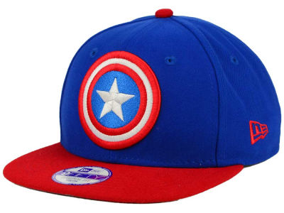 Captain America Marvel Jr Logo Grand 9FIFTY Snapback Cap
