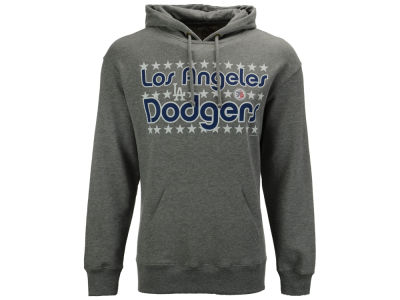 Los Angeles Dodgers '47 MLB Men's Crosstown Striker Bic Hoodie