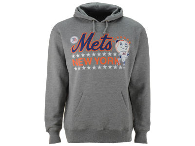 New York Mets '47 MLB Men's Crosstown Striker Bic Hoodie