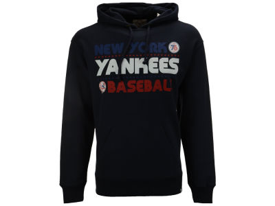 New York Yankees '47 MLB Men's Crosstown Striker Bic Hoodie