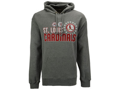 St. Louis Cardinals '47 MLB Men's Crosstown Striker Bic Hoodie