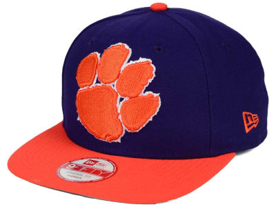 Clemson Tigers New Era NCAA Logo Grand Redux 9FIFTY Snapback Cap