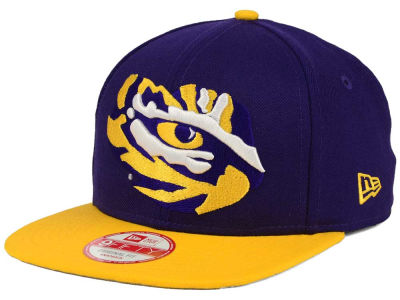 LSU Tigers New Era NCAA Logo Grand Redux 9FIFTY Snapback Cap