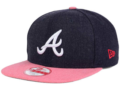 Atlanta Braves New Era MLB Heather 2 Tone 9FIFTY Snapback Cap