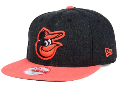 Baltimore Orioles New Era MLB Heather 2 Tone 9FIFTY Snapback Cap