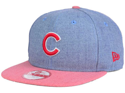 Chicago Cubs New Era MLB Heather 2 Tone 9FIFTY Snapback Cap