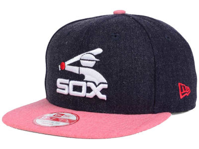 Chicago White Sox New Era MLB Heather 2 Tone 9FIFTY Snapback Cap