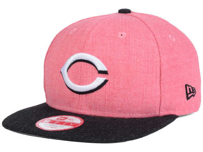 Cincinnati Reds New Era MLB Heather 2 Tone 9FIFTY Snapback Cap