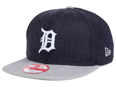 Detroit Tigers New Era MLB Heather 2 Tone 9FIFTY Snapback Cap