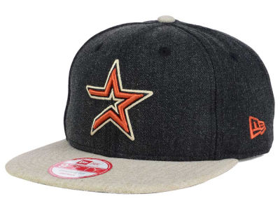 Houston Astros New Era MLB Heather 2 Tone 9FIFTY Snapback Cap