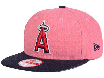 Los Angeles Angels New Era MLB Heather 2 Tone 9FIFTY Snapback Cap