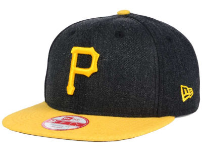 Pittsburgh Pirates New Era MLB Heather 2 Tone 9FIFTY Snapback Cap