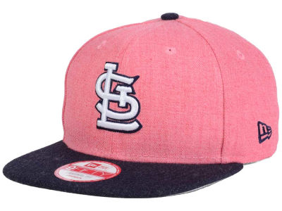 St. Louis Cardinals New Era MLB Heather 2 Tone 9FIFTY Snapback Cap