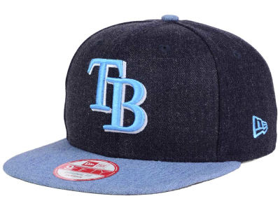 Tampa Bay Rays New Era MLB Heather 2 Tone 9FIFTY Snapback Cap