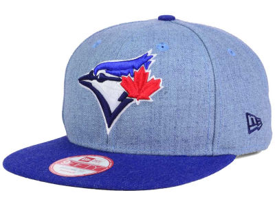 Toronto Blue Jays New Era MLB Heather 2 Tone 9FIFTY Snapback Cap