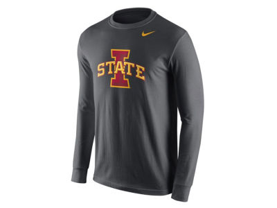 Iowa State Cyclones Nike NCAA Men's Cotton Logo Long Sleeve T-Shirt