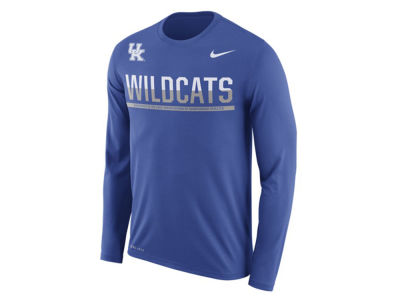 Kentucky Wildcats Nike NCAA Men's Legend Staff Sideline Long Sleeve T-Shirt