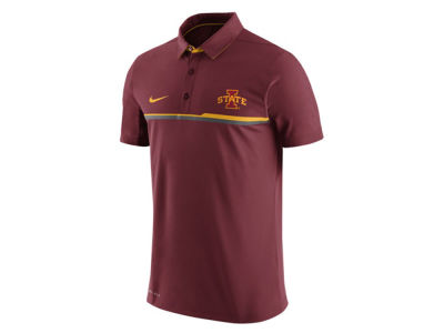Iowa State Cyclones Nike NCAA Men's Elite Coaches Polo Shirt