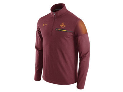 Iowa State Cyclones Nike NCAA Men's Elite Coaches Half Zip Pullover