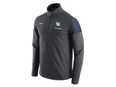 Kentucky Wildcats Nike NCAA Men's Elite Coaches Half Zip Pullover