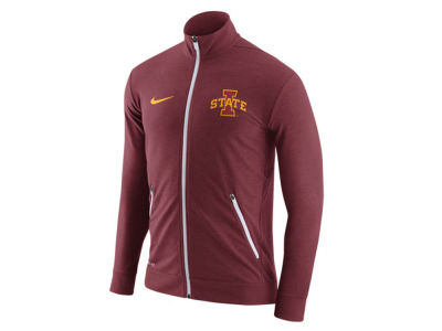Iowa State Cyclones Nike NCAA Men's Elite Players DriFit Touch Full Zip Jacket