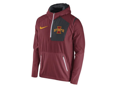 Iowa State Cyclones Nike NCAA Men's Speed Fly Rush Pullover Hoodie Jacket