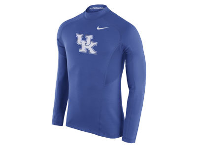 Kentucky Wildcats Nike NCAA Men's Player Hyperwarm Fitted Long Sleeve Top