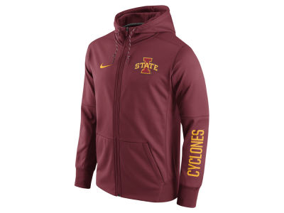 Iowa State Cyclones Nike NCAA Men's Circuit Full Zip Hoodie