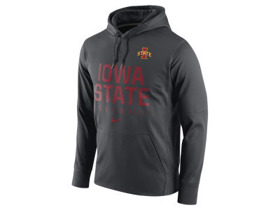 Iowa State Cyclones Nike NCAA Men's Circuit Performance Hoodie
