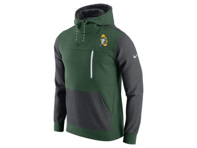 Green Bay Packers Nike NFL Men's Historical Fleece Pullover Hoodie
