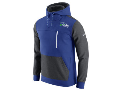 Seattle Seahawks Nike NFL Men's Historical Fleece Pullover Hoodie