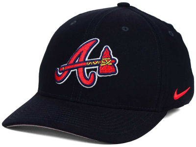 Atlanta Braves Nike MLB Ligature Swoosh Flex Cap