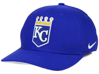 Kansas City Royals Nike MLB Ligature Swoosh Flex Cap