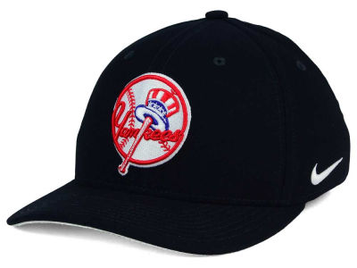 New York Yankees Nike MLB Ligature Swoosh Flex Cap