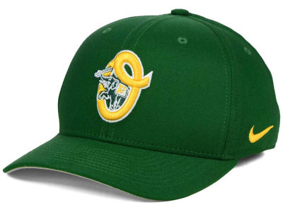 Oakland Athletics Nike MLB Ligature Swoosh Flex Cap