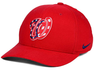 Washington Nationals Nike MLB Ligature Swoosh Flex Cap