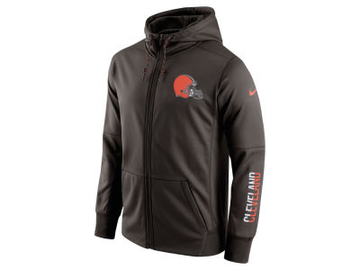 Cleveland Browns Nike NFL Men's Circuit Full Zip Hoodie