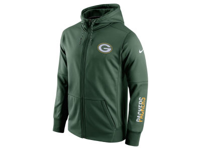 Green Bay Packers Nike NFL Men's Circuit Full Zip Hoodie