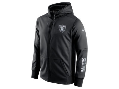 Oakland Raiders Nike NFL Men's Circuit Full Zip Hoodie