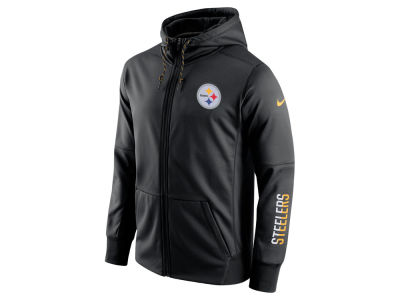 Pittsburgh Steelers Nike NFL Men's Circuit Full Zip Hoodie