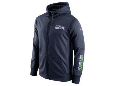 Seattle Seahawks Nike NFL Men's Circuit Full Zip Hoodie