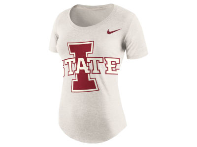 Iowa State Cyclones Nike NCAA Women's Triblend Nameplate Boyfriend T-Shirt